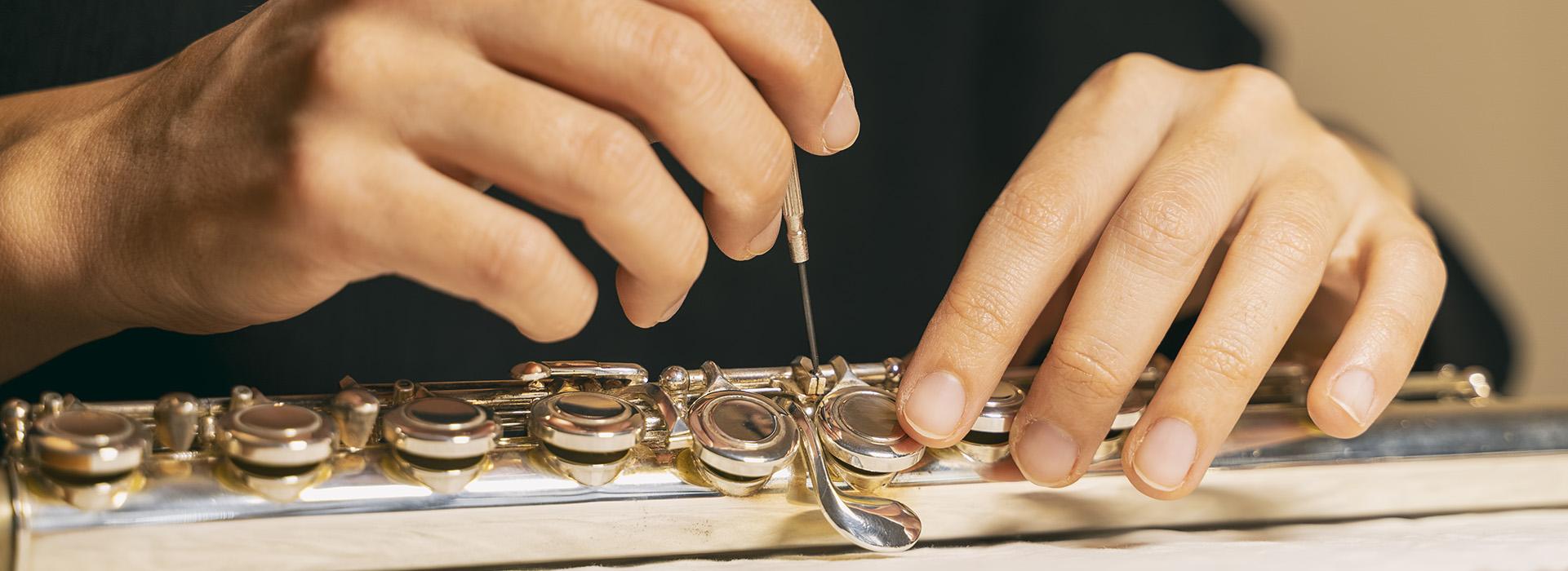 Курс по регулировке и уходу за инструментом (флейта)